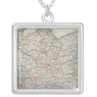 Northeastern Germany Square Pendant Necklace