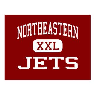 Northeastern - Jets - High - Springfield Ohio Postcard
