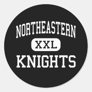 Northeastern - Knights - High - Fountain City Classic Round Sticker