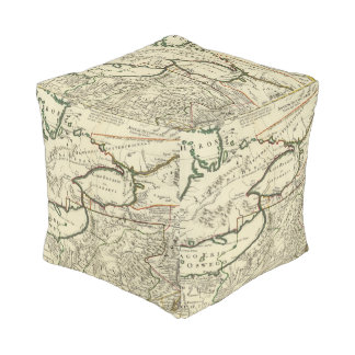 Northeastern United States Cube Pouf