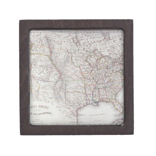 Northen United States Keepsake Box