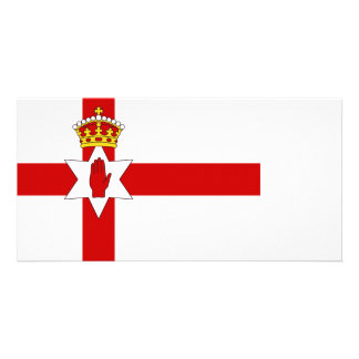 Norther Ireland ulster flag Card
