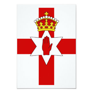 Norther Ireland ulster flag 3.5x5 Paper Invitation Card