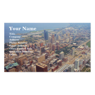 Northerly Island Park, Chicago Double-Sided Standard Business Cards (Pack Of 100)