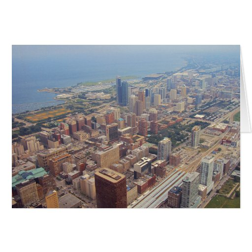Northerly Island Park, Chicago Greeting Card