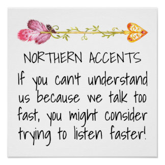 Northern Accents Poster Revised