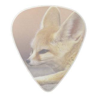 Northern Africa. Fennec Fennecus zerda) Acetal Guitar Pick