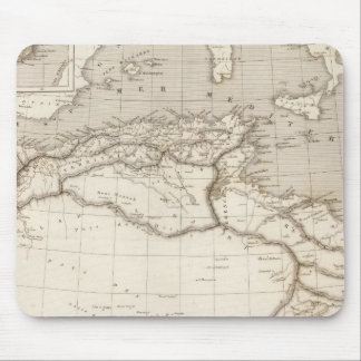 Northern Africa Mouse Pad