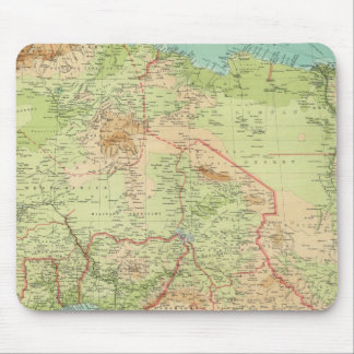 Northern Africa with shipping routes Mouse Pad