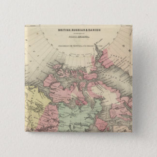 Northern America Pinback Button