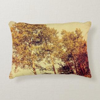 Northern Birch Trees Art Decorative Pillow