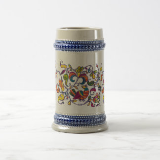 Northern Bird from Russia Beer Stein