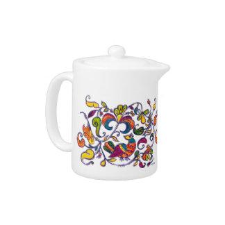Northern Bird Teapot