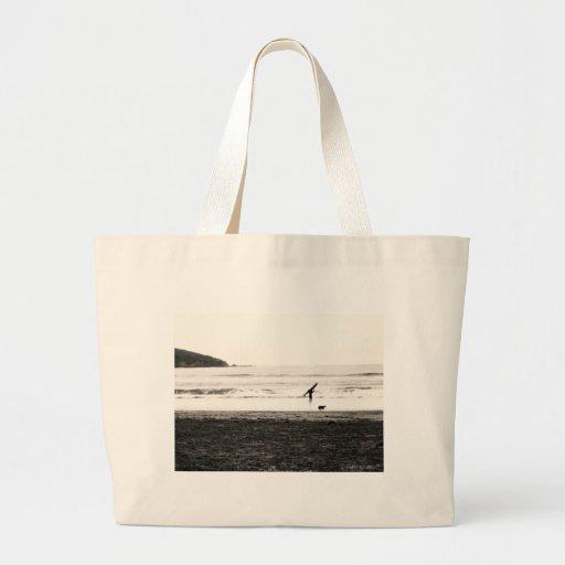 Northern California Beach Scene Bag