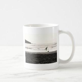 Northern California Beach Scene Coffee Mug