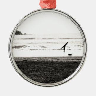 Northern California Beach Scene Ornament