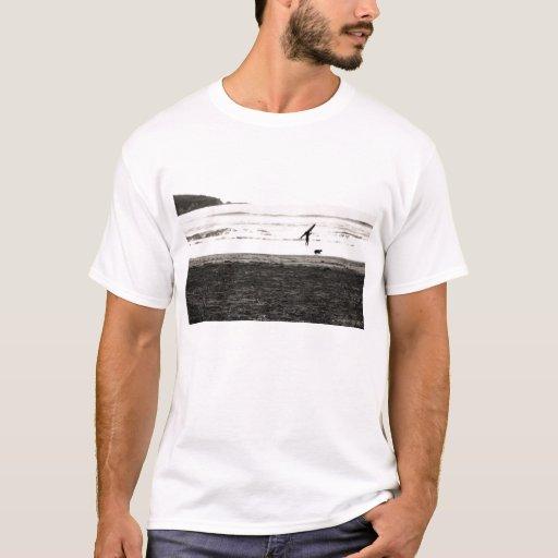 Northern California Beach Scene T-Shirt