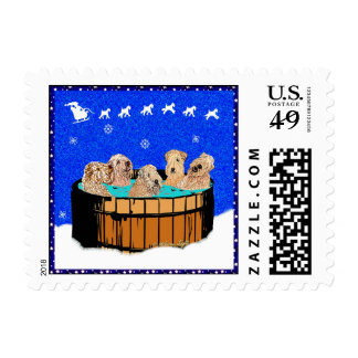 Northern California Christmas by M.Light Stamp