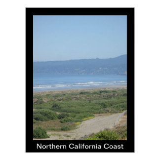 Northern California Coast Poster
