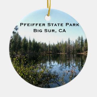 Northern California Landscape Ornament