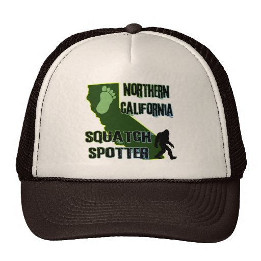 Northern California Squatch Spotter Hats