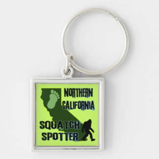 Northern California Squatch Spotter Keychain