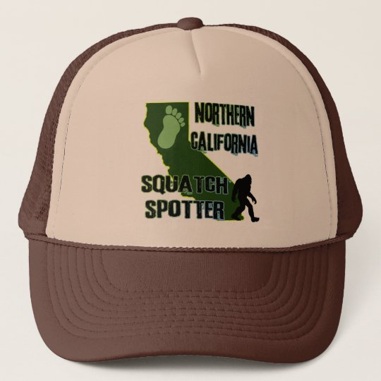 Northern California Squatch Spotter Trucker Hat