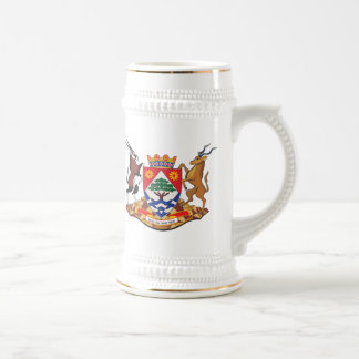 Northern Cape Province Coat of Arms Beer Stein