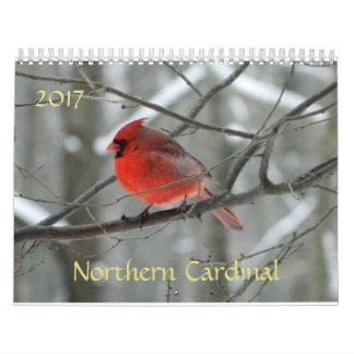 Northern Cardinal 2017 Calendar