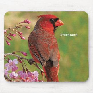 Northern Cardinal 2 Mouse Pad