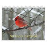 Northern Cardinal Calendar