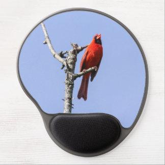 Northern Cardinal Gel Mouse Pad