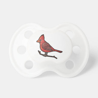 Northern Cardinal Pacifier