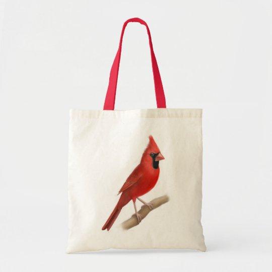Northern Cardinal Wild Bird Tote Bag