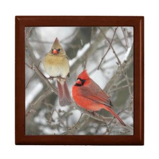 Northern Cardinals Keepsake Box