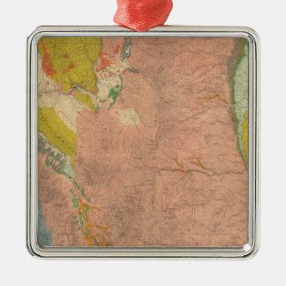 Northern Central Colorado 2 Metal Ornament