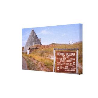Northern Cheyenne Montana Wrapped Canvas Canvas Print