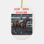 northern dancer christmas tree ornament