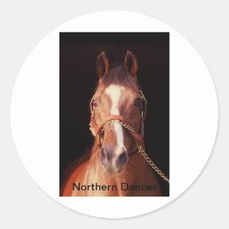 Northern Dancer...World's Greatest Stallion Classic Round Sticker
