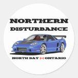 NORTHERN DISTURBANCE STICKER