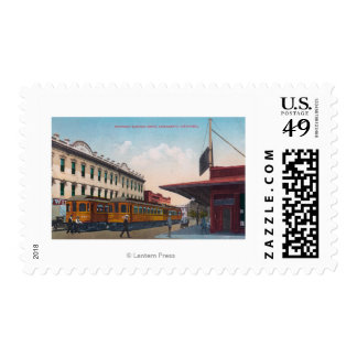 Northern Electric Rail Depot Postage