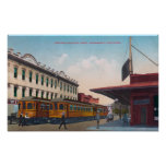 Northern Electric Rail Depot Posters