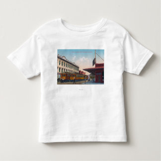 Northern Electric Rail Depot Toddler T-shirt