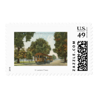 Northern Electric Railroad Station 2 Postage