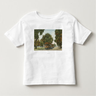Northern Electric Railroad Station 2 Toddler T-shirt