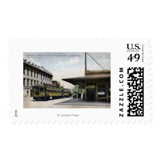 Northern Electric Railroad Station Postage