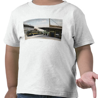 Northern Electric Railroad Station Tee Shirt