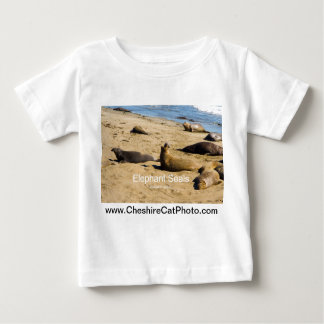 Northern Elephant Seal California Products Baby T-Shirt