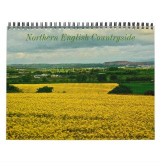 Northern English Countryside Calendar 2013