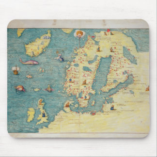 Northern Europe Mouse Pad